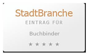 Buchbinder Brosche Buchbinderei Wien