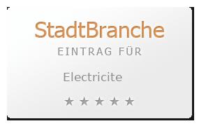 Electricite Bewertung & Öffnungszeit