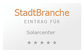 Solarcenter Bewertung & Öffnungszeit