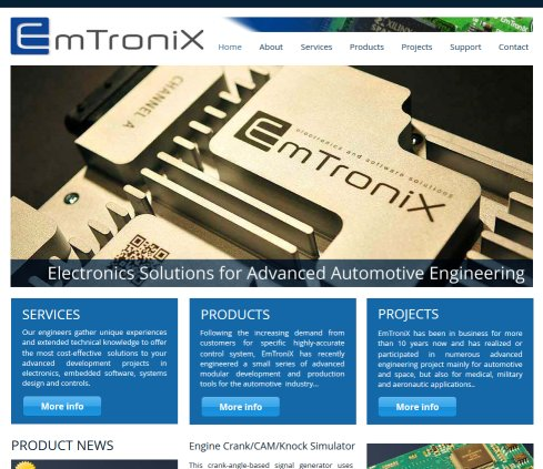 EmTroniX advanced electronics  integrated system and embedded software  Öffnungszeit