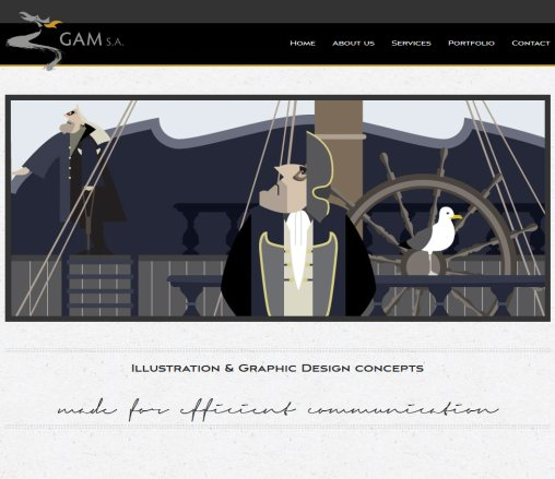 GAM   Illustration  Graphic Design  Öffnungszeit