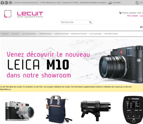Lecuit   photo equipment  Öffnungszeit