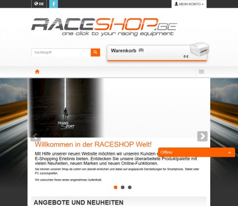 RaceShop   TransSport   Motorsport   Official Citroën Distributor  Öffnungszeit